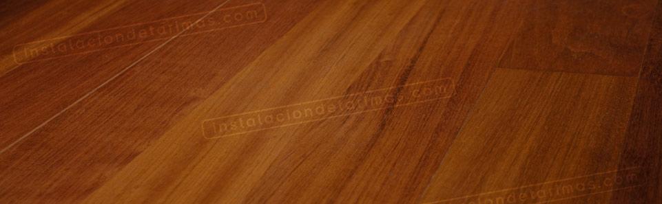 foto de suelo tarima de ipé de interior
