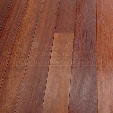 foto del suelo de la oferta de cumarú rojo