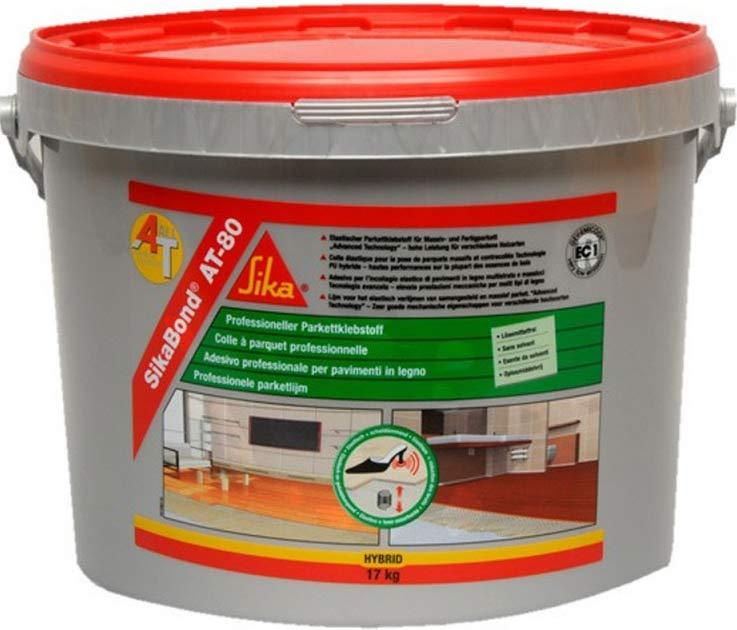 foto del adhesivo Sika Bond At80 para pegar suelos de madera