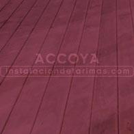 tarima de accoya violeta para exterior