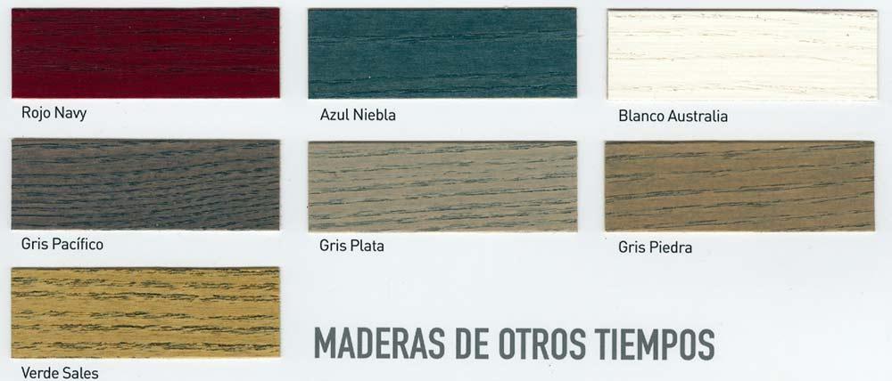 colores para tarima de exterior