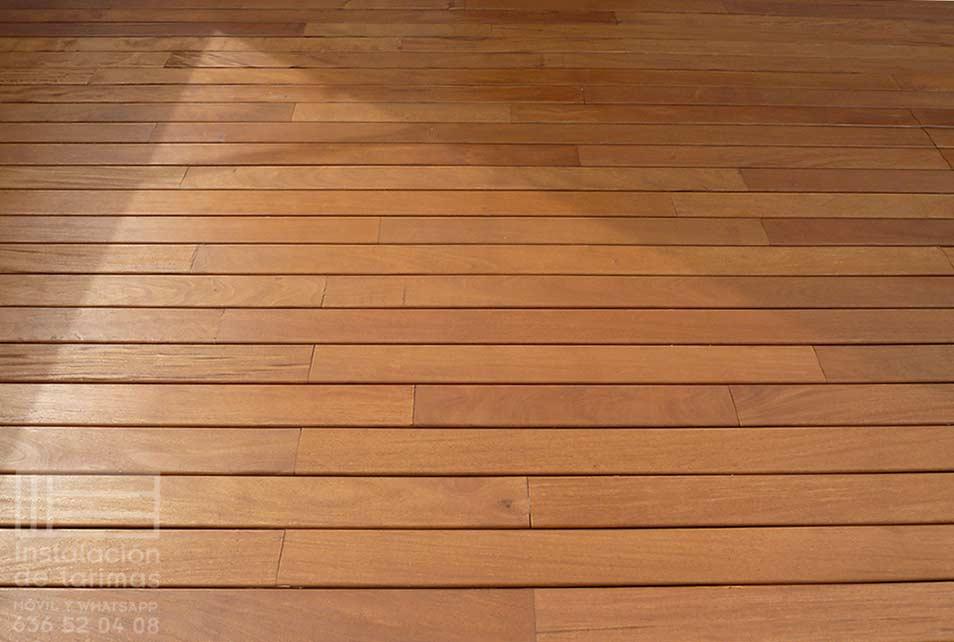 la mejor madera exterior es la grapia por precio y calidad