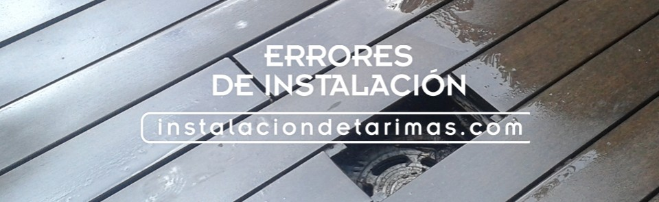 restaurar una tarima exterior, foto de tarima de ipé defectuosa por una mala instalació