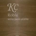 Tarima de Roble, serio pero afable